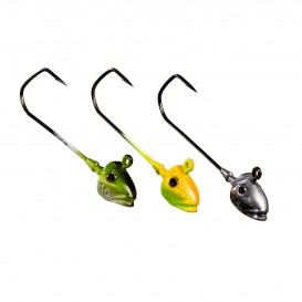 TETE PLOMBEE GUNKI G'FISH PIKE NATURAL GREEN