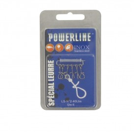 AGRAFE POWERLINE LURE SNAP