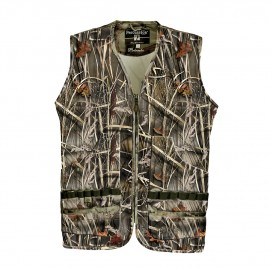 GILET PERCUSSION PALOMBE CAMO WET