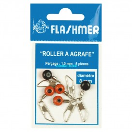 PERLE ROLLER A AGRAFE