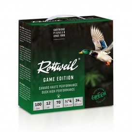 ROTTWEIL GAME EDITION CANARD HV