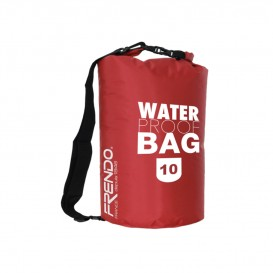 WATERPROOF BAG 10 LITRES ROUGE