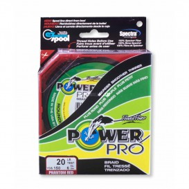 TRESSE POWER PRO ROUGE 455 M