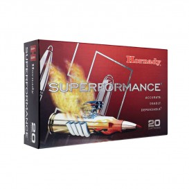 MUNITIONS BALLES HORNADY 308 WINCHESTER SUPERFORMANCE SST 80983