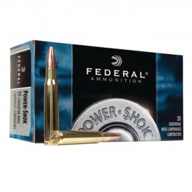 MUNITIONS BALLES FEDERAL POWER SHOK 30 06