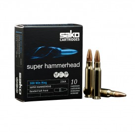 MUNITIONS BALLES SAKO 300WM HAMMERHEAD 228A