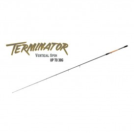 CANNE TERMINATOR VERTICAL SPIN 180CM 30G