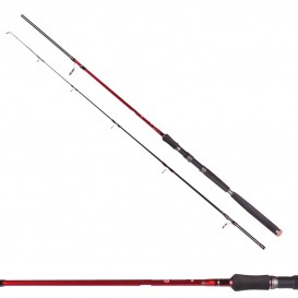 CANNE DAM STEELPOWER RED EXTREME PILK + MOULINET QUICK NAUTIC FD