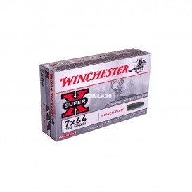 MUNITIONS BALLES WINCHESTER 7X64 POWER POINT